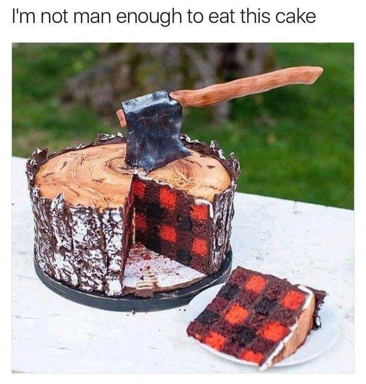 If Paul Bunyan had a birthday cake