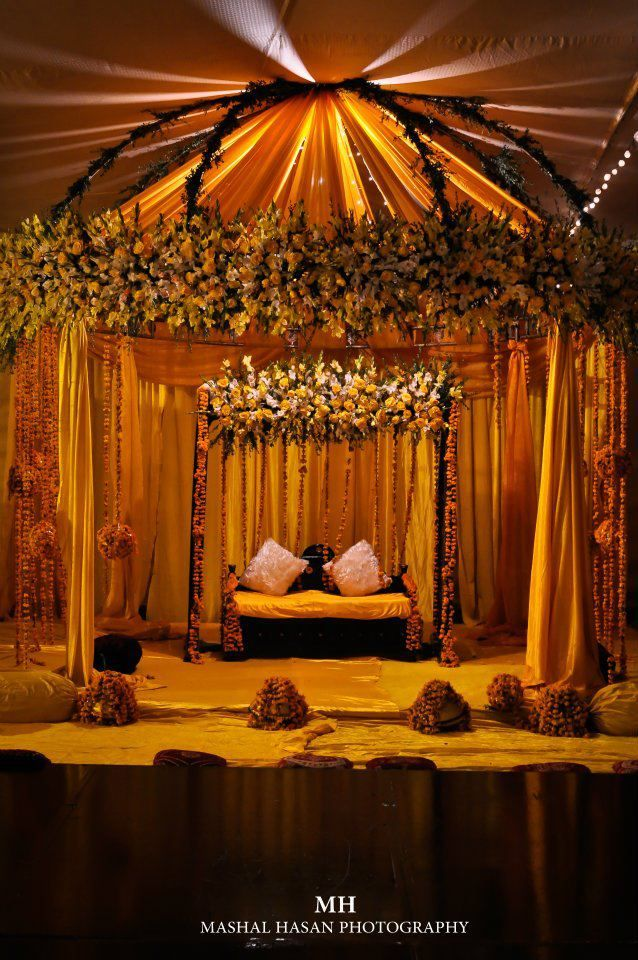 Indian Wedding decor ideas. Mandap ideas
