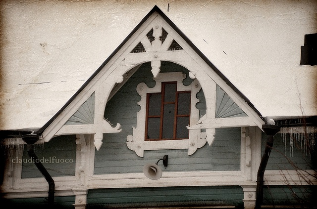 Finland - Vanha Rauma - A traditional wooden house,