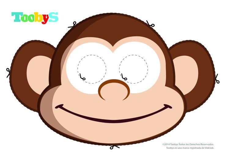 Máscara Salomón. #Toobys #Cumpleaños #KitCumpleaños #Careta #CaretaSalomón