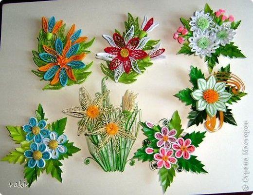 Produse de artizanat Quilling magneți Photo Paper 1