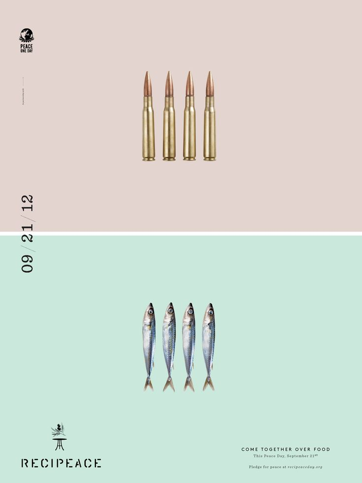 Recipeace bullets by Leo Burnett