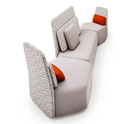 PEBBLE has evolved!  Being a product of nature, Pebble Modular Seating has evolved to include a new backrest design by Schamburg+Alvisse, making it even more versatile within the changing office landscape. Back to back, face to face, or sideways, you choose which way you want to sit. http://www.zenithinteriors.com.au/product/2513/pebble-with-back