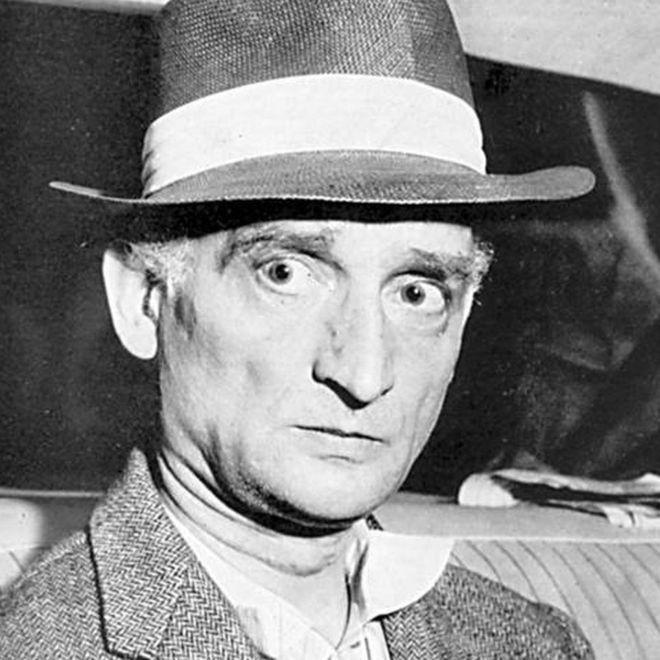 Rudolf Abel, pictured in 1957