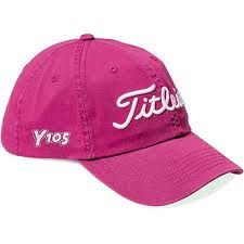 I have a light pink golf hat like this! Love it!! <3