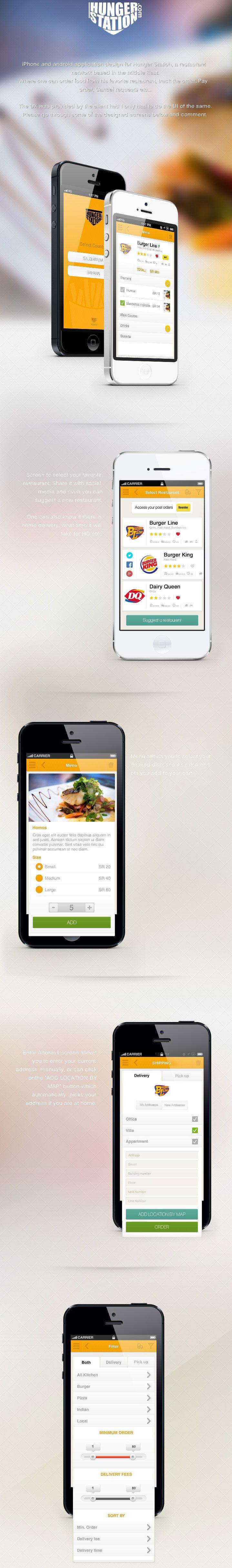 Food app #mobile #webdesign #app #layout #design #ui