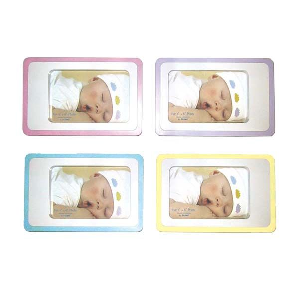 """Party plus picture frames 4"""" x 6"""" colorix baby photo frame 4 colors / Manage Products / Catalog / Party plus picture frames Magento Admin"""