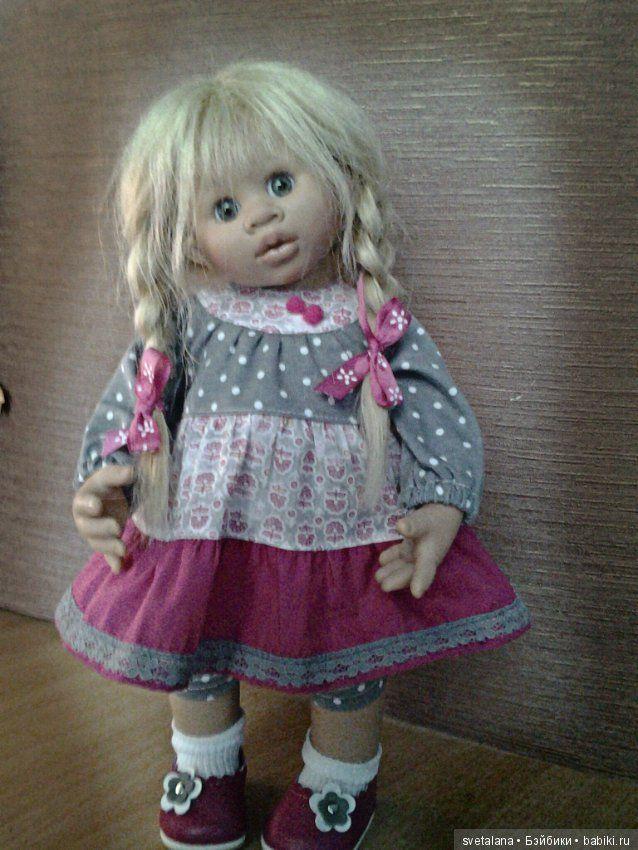 Ох уж эти вихтельки. Ронька и Лили / Коллекционные куклы Rosemarie Anna Muller / Бэйбики. Куклы фото. Одежда для кукол