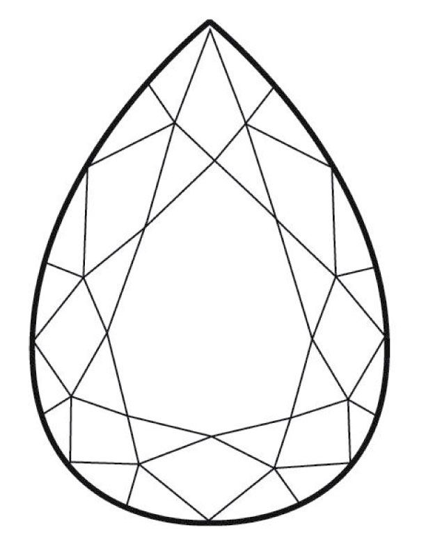 Click on this template and print on letter size at 100 for Gem coloring pages