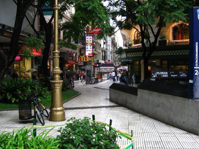 Florida, a rua de compras em Buenos Aires - Buenos Aires dicas de Turismo