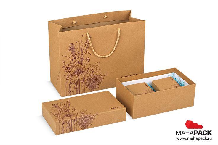 пакет под коробки для пирогов
