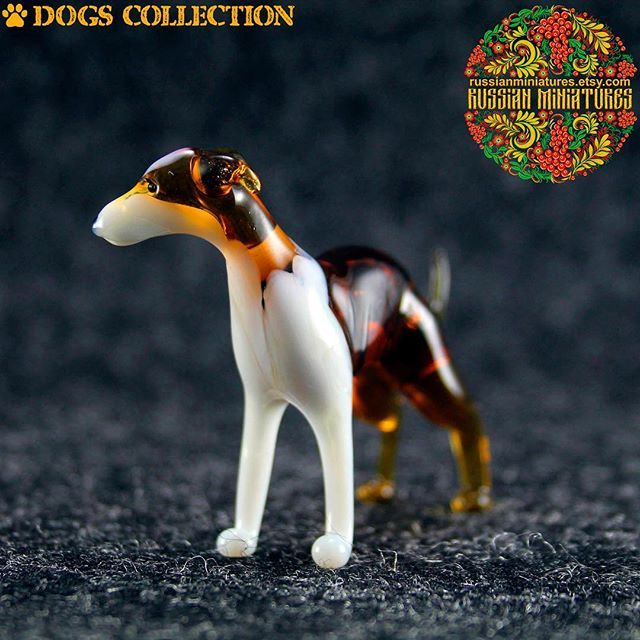 Color Glass Greyhound Figurine.  Check out here: https://goo.gl/9MpNNd Dogs collections: https://goo.gl/HeS43f -------------- Follow us @russianminiatures if you love glass figurines! Made in  Russia St. Petersburg.Worldwide shipping. Update pictures everyday ! -------------- Follow us on: - https://goo.gl/NKk858 -------------- #russianminiatures #handmade