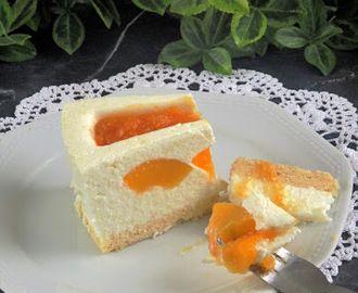 Barackos torta zila formában paleo