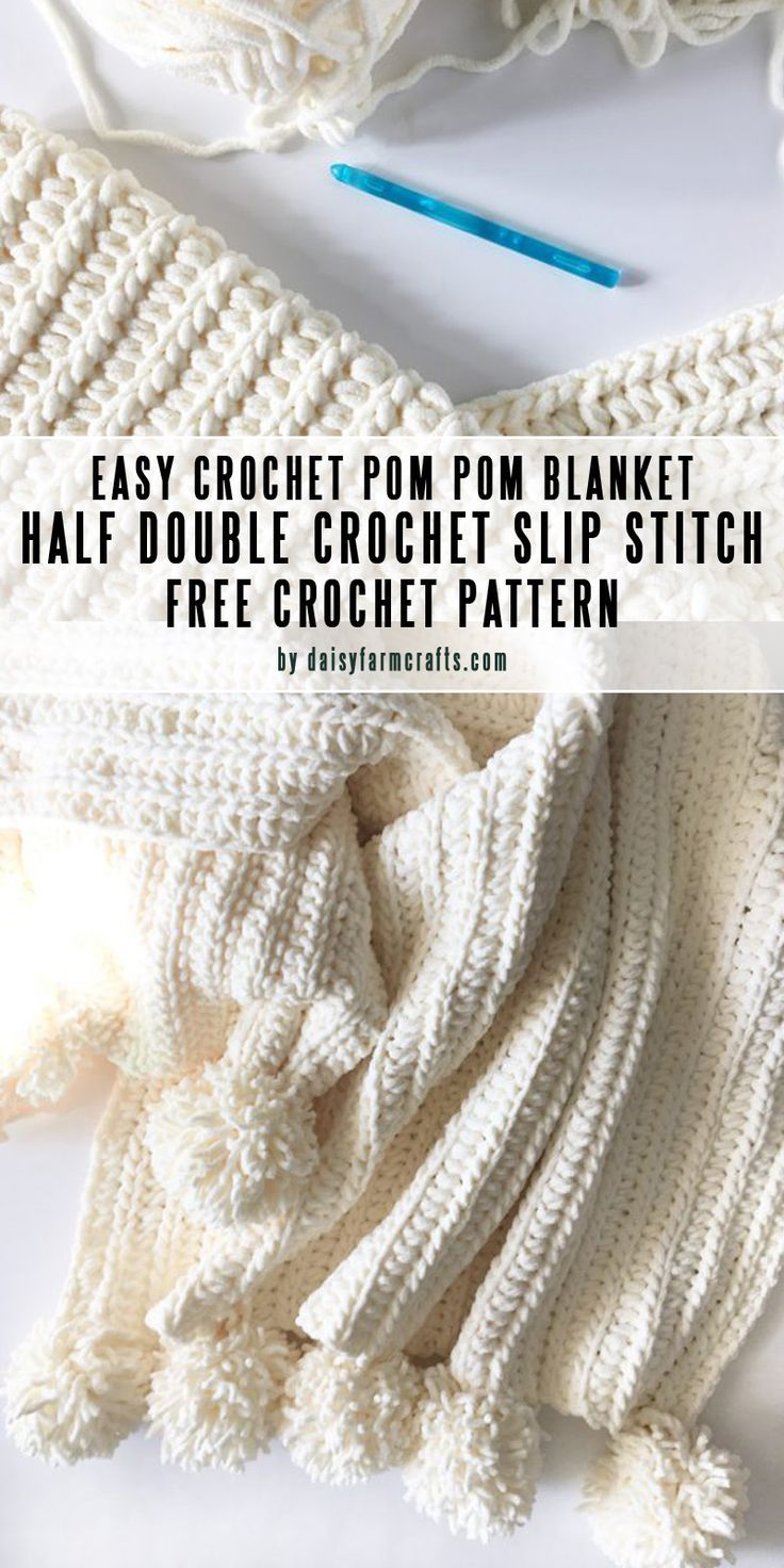 Easy DIY baby blankets you can crochet in a weekend