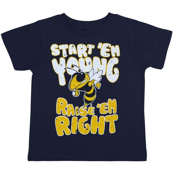 GA Tech Yellow Jackets Infant Navy Blue Start 'Em Young T-Shirt, $12.95