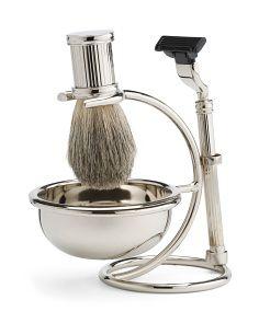 Brush And Razor Shaving Set