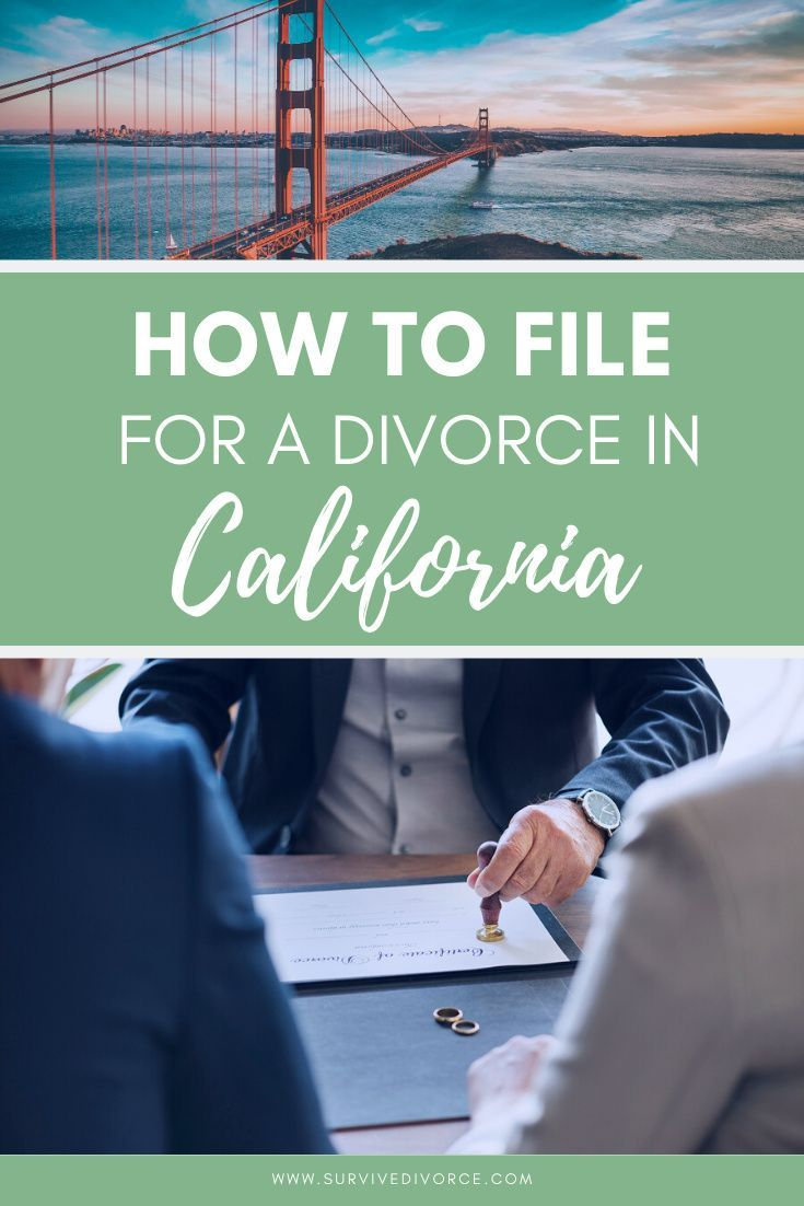 California Divorce How To File For Divorce In California In 2020 Divorce Divorce Advice California