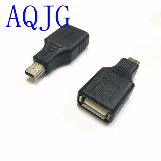USB 2.0 A Female jack to Mini USB B 5Pin Male plug rgiht angle adapter cable