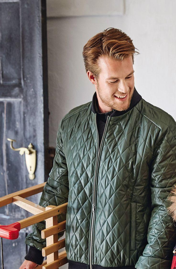 Стьобана чоловіча куртка бомбер | BurdaStyle.ua: Мода, Дизайн, Рукоділля, Викрійки