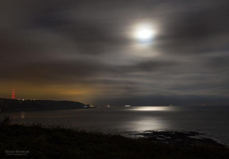 folkestone warren by moonlight... by Ross Bishop on 500px