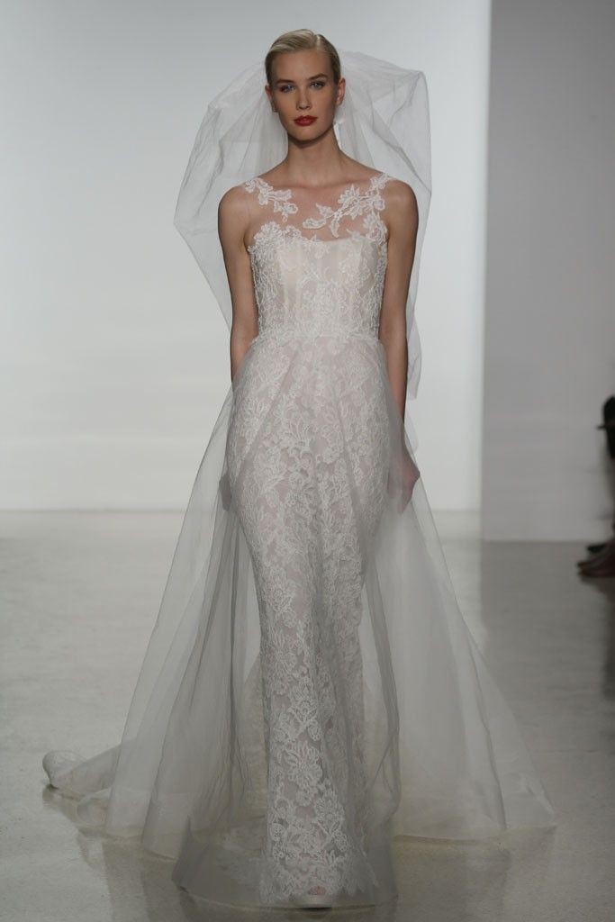 Amsale Bridal Spring 2015 [Photo by George Chinsee]