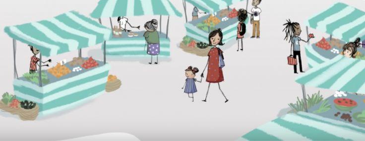 Vídeo para crianças ensina quais as vantagens da alimentação orgânica