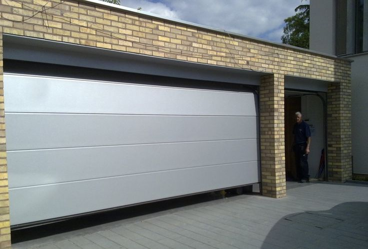 Stainless Steel Garage Door Maison Design Edfos