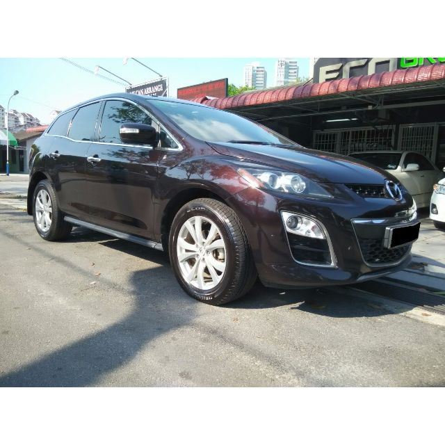 Brand -------- MazdaModel -------- CX-7Year ---------- 2010Engine ------- 2,261 ccPower -------- 260 bhpTorque ------- 380 Nm0-100 km/h -- 8.2 secTop speed --- 211 km/hFor more info or test drive,Please do not hesitate to call or Whatsapp our specialistMines Lee@012-5599788Or please visitwww.carlist.my/dealer/ecogreenautosdnbhdfor more cars.