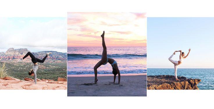 Aerial Lynn, californian girl accro au yoga et à la méditation, immortalise sur son compte Instagram ses figures les plus impressionnantes, avec les plages mexicaines, les cascades de Bali ou les zones désertiques d'Arizona en toile de fond. On s'empresse de la suivre, donc, pour des clichés à couper le souffle, empreints d'esprit d'évasion.