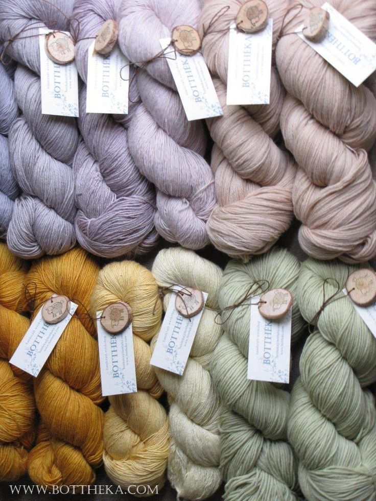 Tableau de fil - vegetable dyeing yarns http://bottheka.com/en/tableau-de-fil
