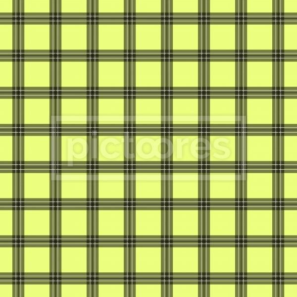limon and grey plaid seamless pattern