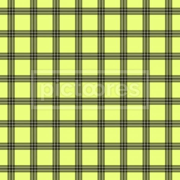 limon and grey plaid seamless pattern