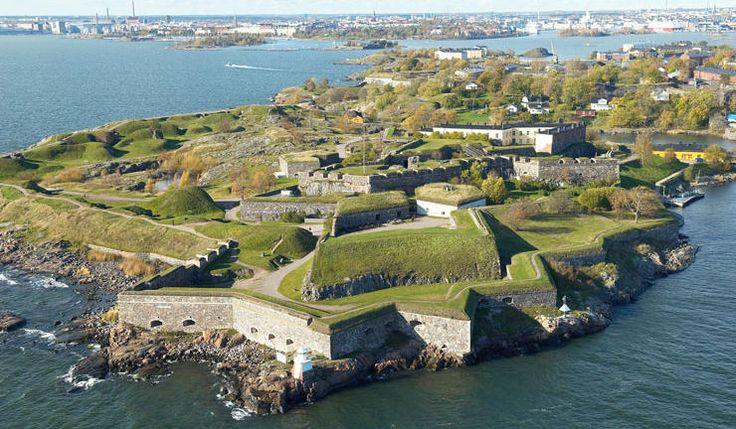 Finland`s most popular attraction the sea fortress Suomenlinna in Helsinki archipelago - Photo archive of the Governing Body of Suomenlinna/Suomen Ilmakuva Oy