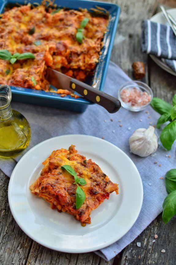 Easy Sweet Potato Lasagna Plant Based Dinner Recipe Recipe Sweet Potato Lasagna Recipe Potato Lasagna Lasagna Recipe