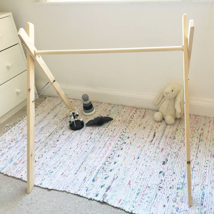 A personal favourite from my Etsy shop https://www.etsy.com/uk/listing/290661261/minimalist-scandi-inspired-baby-gym