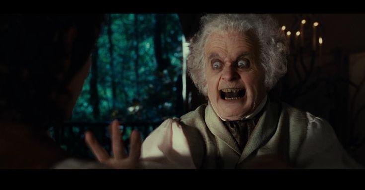 Scary hobbit.