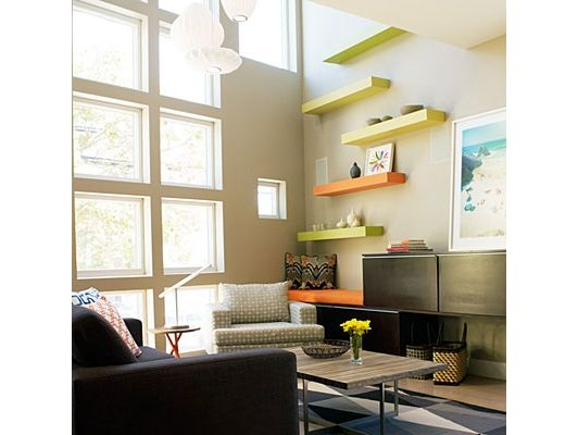small apartment ideas apartment design small home interior design rh spaceoptimized com walnut colored floating shelves wood colored floating shelves