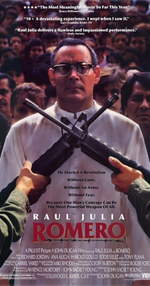 the life of oscar romero in the movie romero The movie romero is about the life of oscar romero, an archbishop of el salvador the movie illustrates the hardships and the sacrifices that oscar romero has done in order to help and serve the underprivileged people of el salvador.