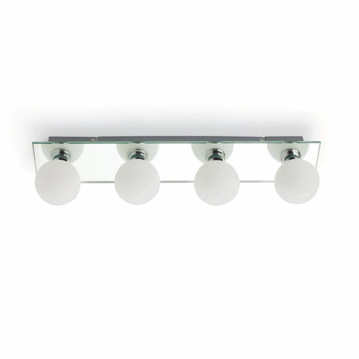 Aplique de baño para encima de espejo ideal para baños-serie H308 | Tienda de lámparas, lámparas de LED, ventiladores de techo, decoración y regalos originales