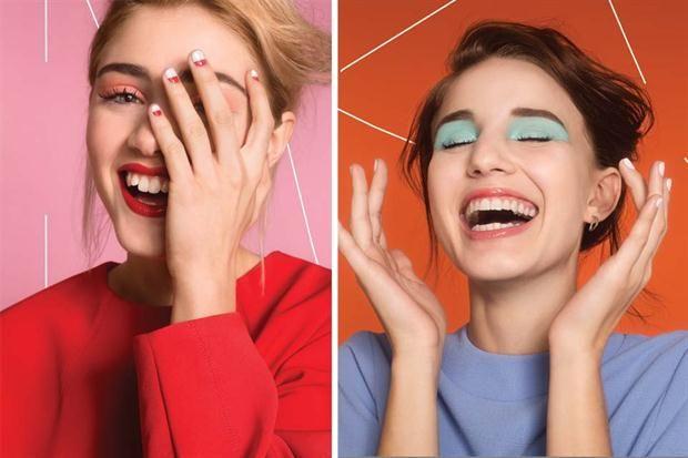 5 propuestas full color para un maquillaje alegre  Foto:Evelyn Sol. Producción de Julia Kovadloff