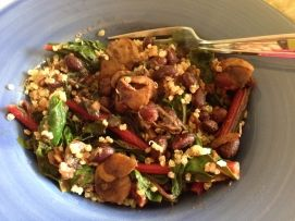 Sautéed Chard, Black Beans and Mushrooms | food for thought | Pintere ...