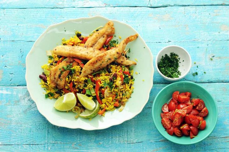 27 november - Pangasius-reepjes + Mexicaanse roerbakgroenten in de bonus = Een Mexicaans feest vol kleuren en smaken. - Recept - Allerhande