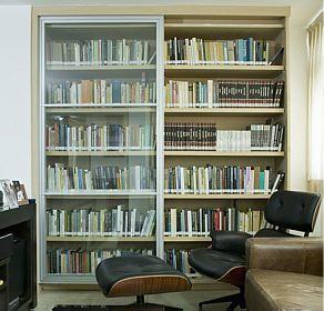 ... pintadas, Estantes de livro para sala de estar e Ideias para estante