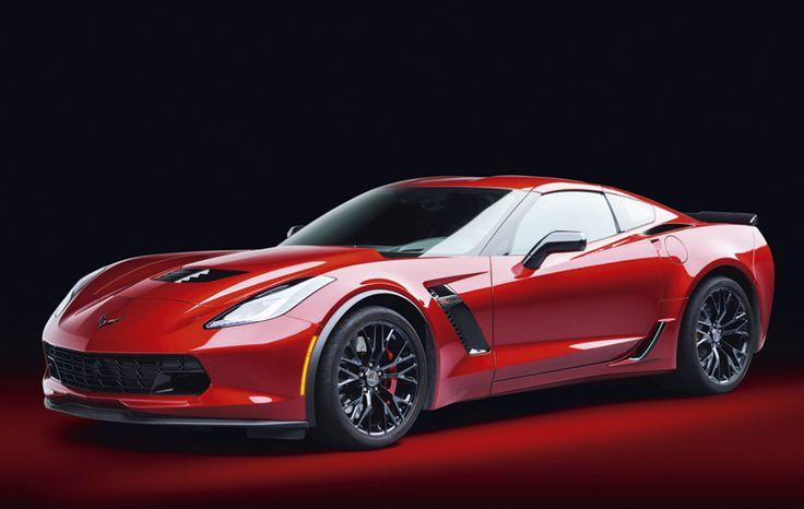 Chevrplet Corvette Z06 Supercar, 2015, Kalendář Cars 2017