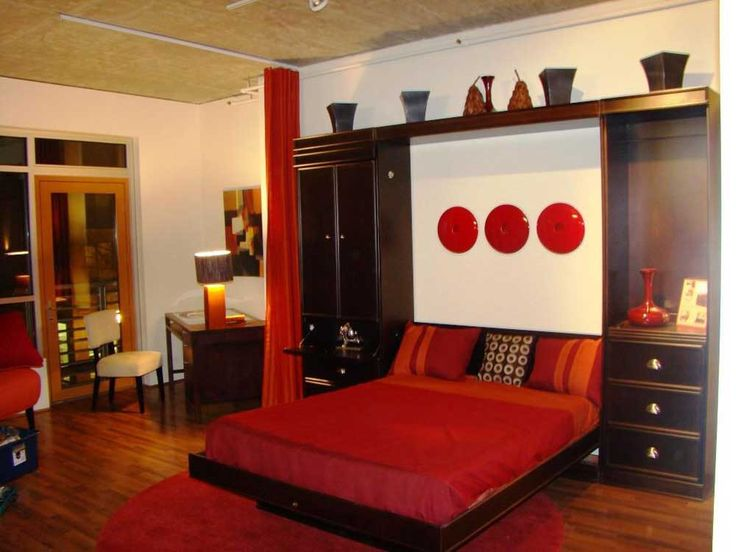 Bedroom Decor Red And Black 11 best red black wall bedroom images on pinterest | bedroom