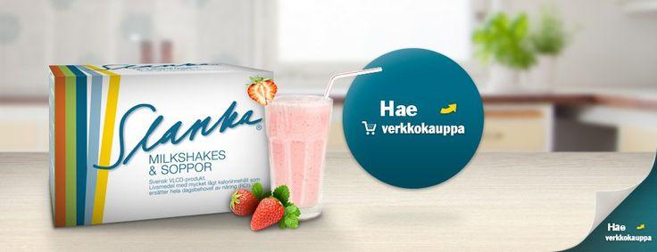 Slanka on uusi ruotsalainen VLCD-painonhallintatuote,  joka ei sisällä aspartaamia, gluteiinia eikä soijajauhoa.