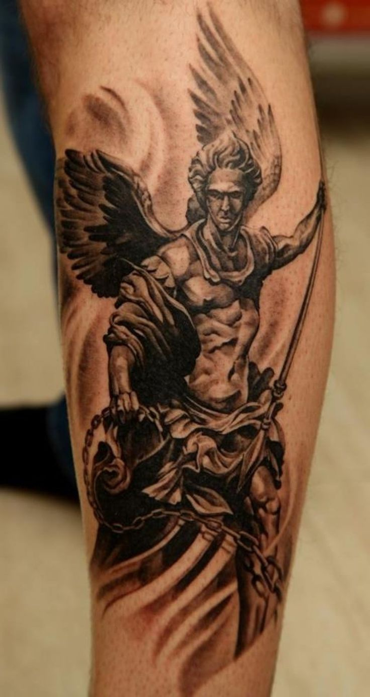 guardian angel tattoo - Google Search                                                                                                                                                     More