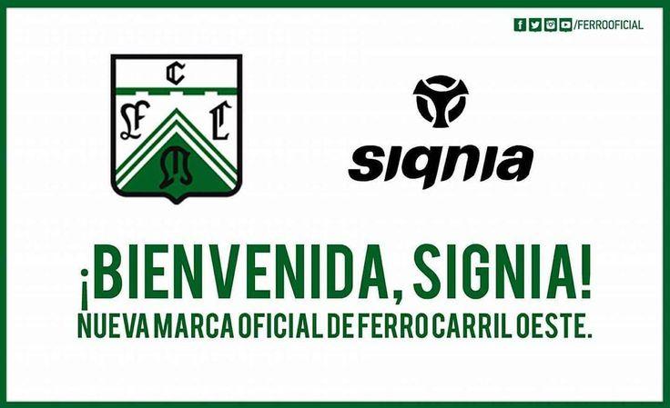 """136 Me gusta, 2 comentarios - FB: Ferro Carril Oeste Informa (@ferro_informa) en Instagram: """"Bienvenido signia."""""""