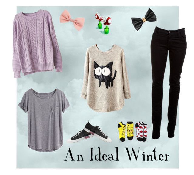 """An Ideal Winter"" by blondieau on Polyvore"