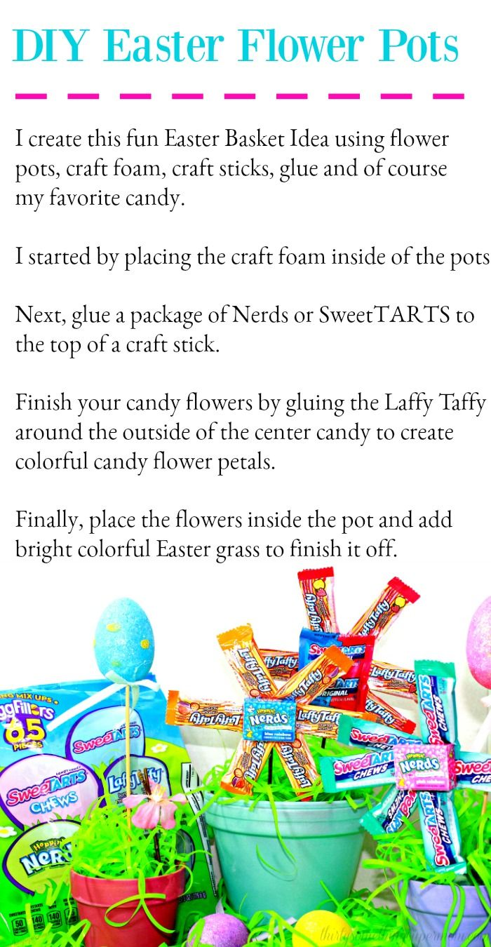 #AD Head to Walmart for supplies & recreate this fun #NestleEasterBasket  I used @Nestle SweeTARTS, Nerds & Laffy Taffy. Get $1.25 back with this Ibotta offer. https://ibotta.com/rebates?q=nestleeaster …  This is so much fun to make & the kids will love it!  #Easter #EasterCandy #EasterBasket